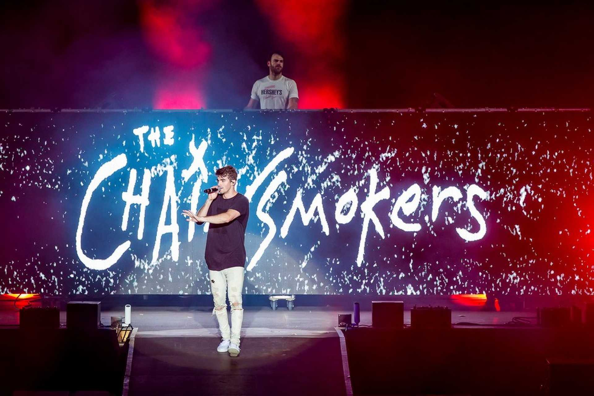 The Chainsmokers a Szigeten